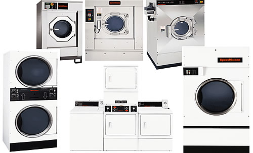 Manna commercial laundry equipment services a wide range of commercial OPL, Coin Op Laundry room or Laundromat equipment